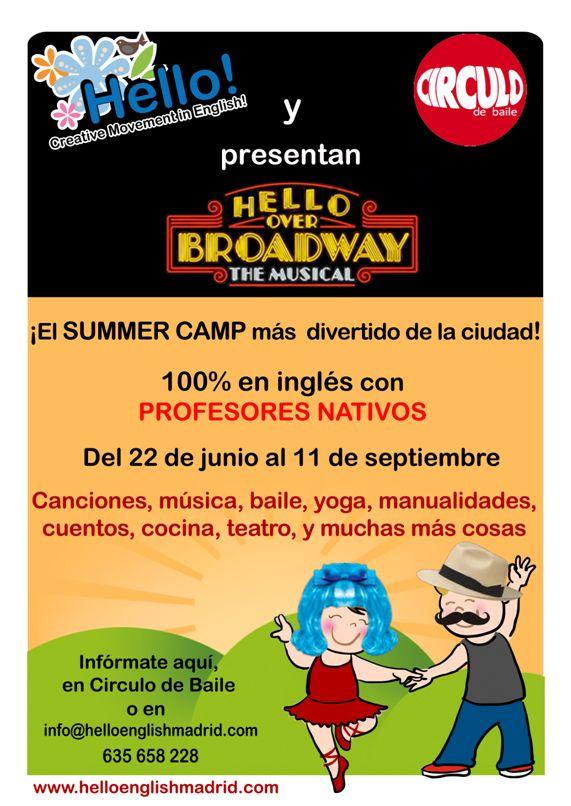 Hello!. Summer Dance Camp. 2015