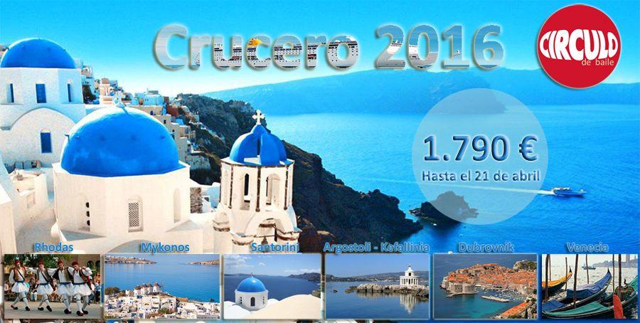 Crucero con baile por las Islas Griegas, Dubrovnik y Venecia