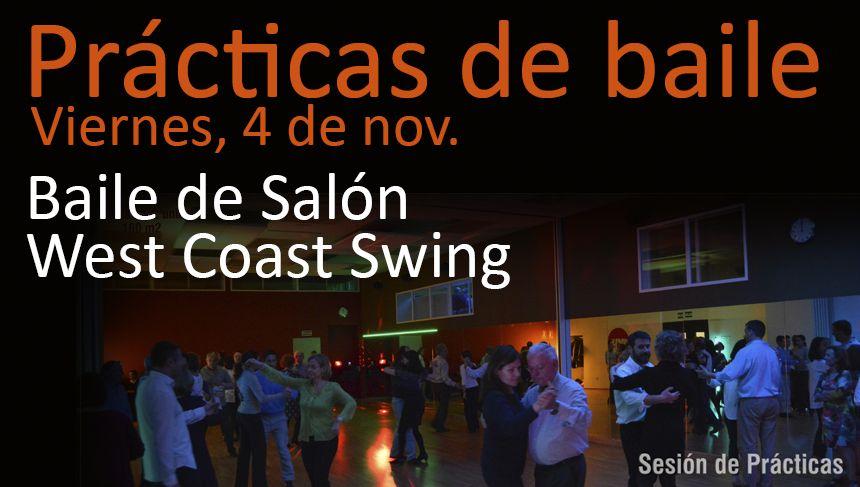 Practicas de baile de sal n y west coast swing c rculo for Academias de bailes de salon en madrid