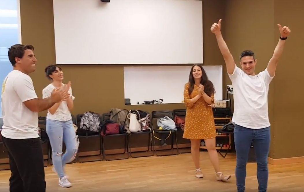 Promoción del video de Omar para el curso 2018-19 de Salsa y Bachata