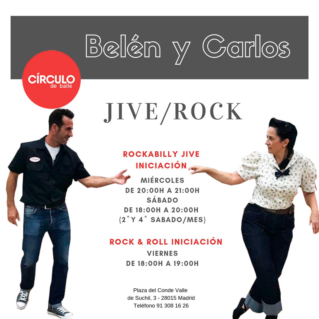 Clases de Belén y Carlos. 2019-20. Jive/Rock