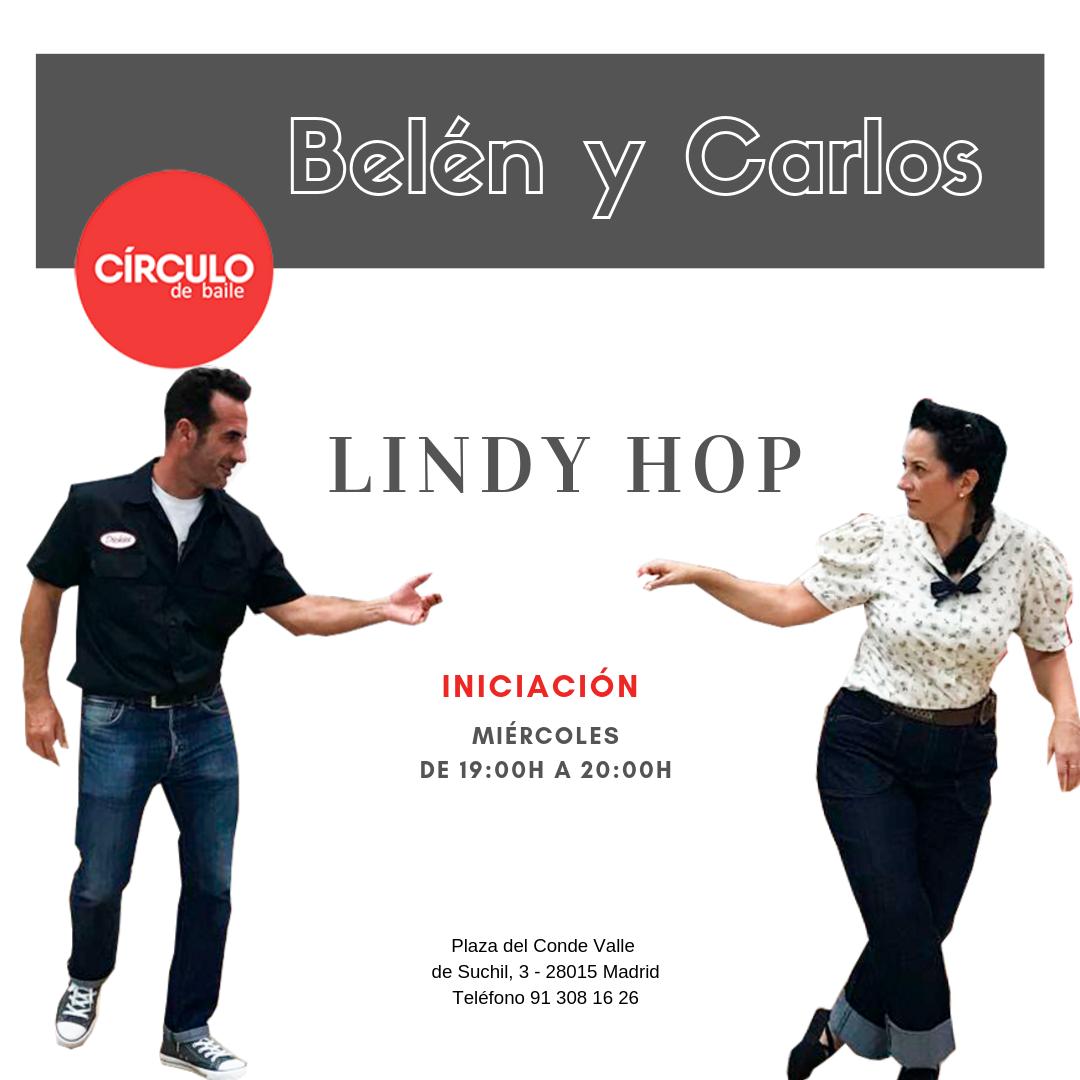 Clases de Belén y Carlos. 2019-20. Lindy Hop