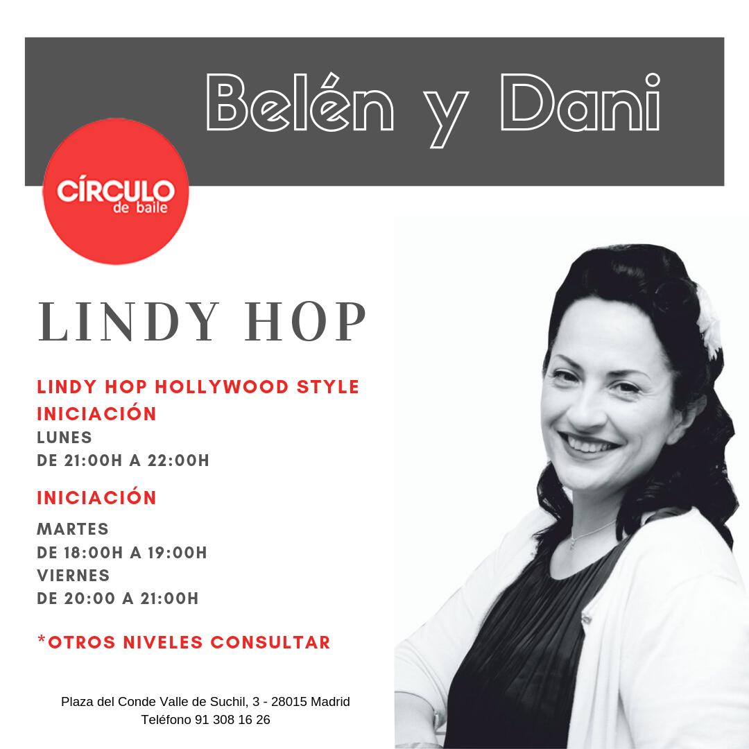 Clases de Belén y Danny. 2019-20. Lindy Hop