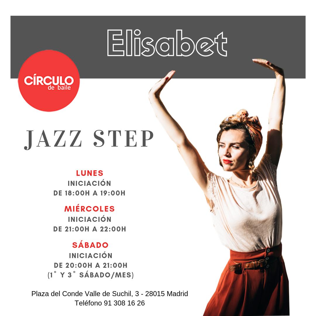 Clases de Elisabet. 2019-20. Jazz Steps