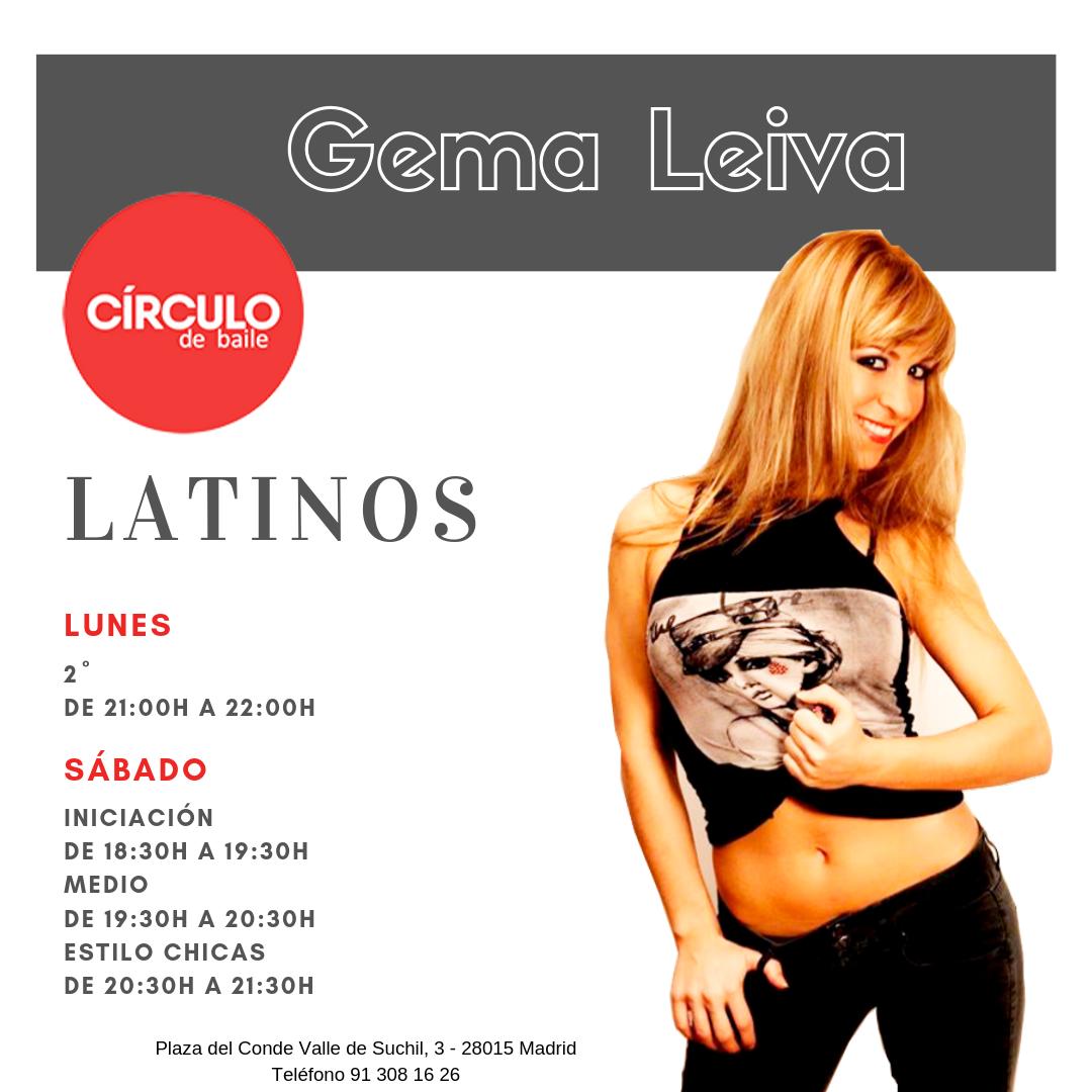Clases de Gema Leiva. Curso 2019-20. Latinos