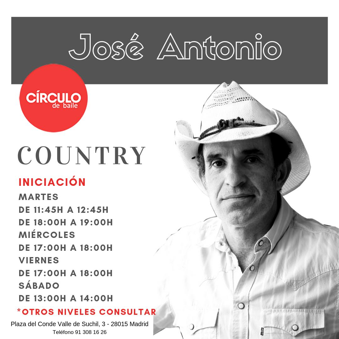 Clases de José Antonio. 2019-20. Country