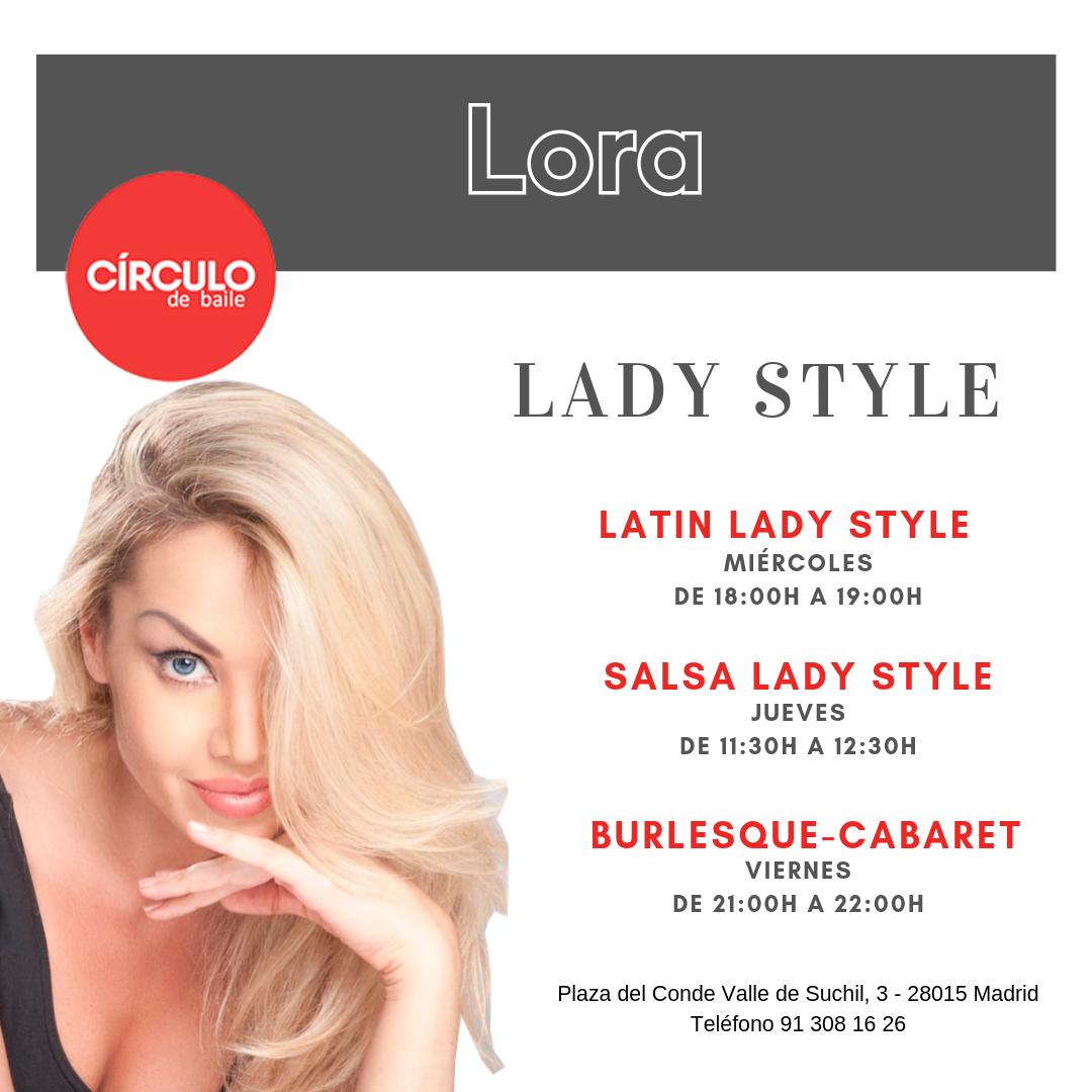 Clases de Lora. 2019-20. Lady Dance