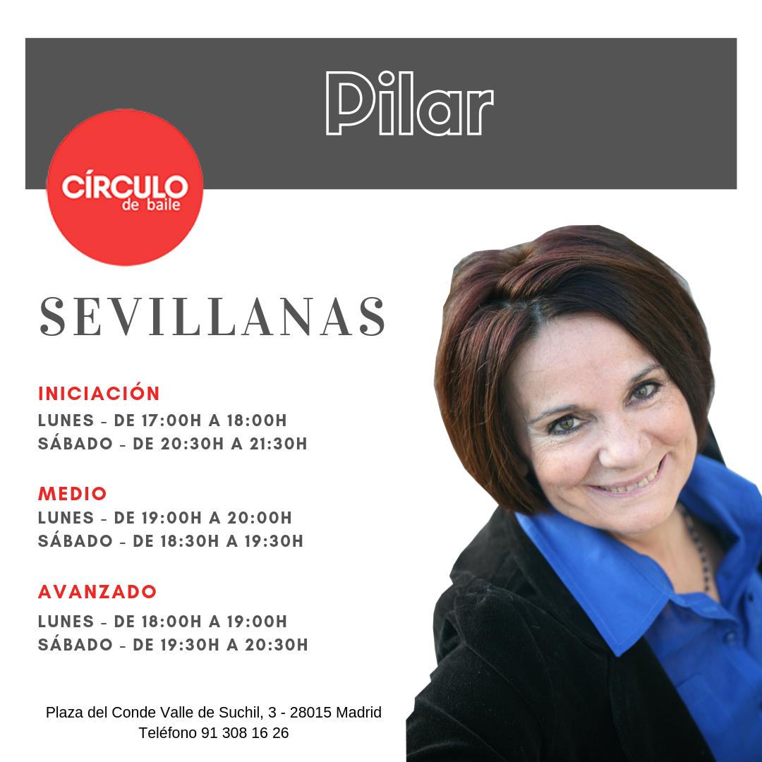 Clases de Pilar. 2019-20. Sevillanas