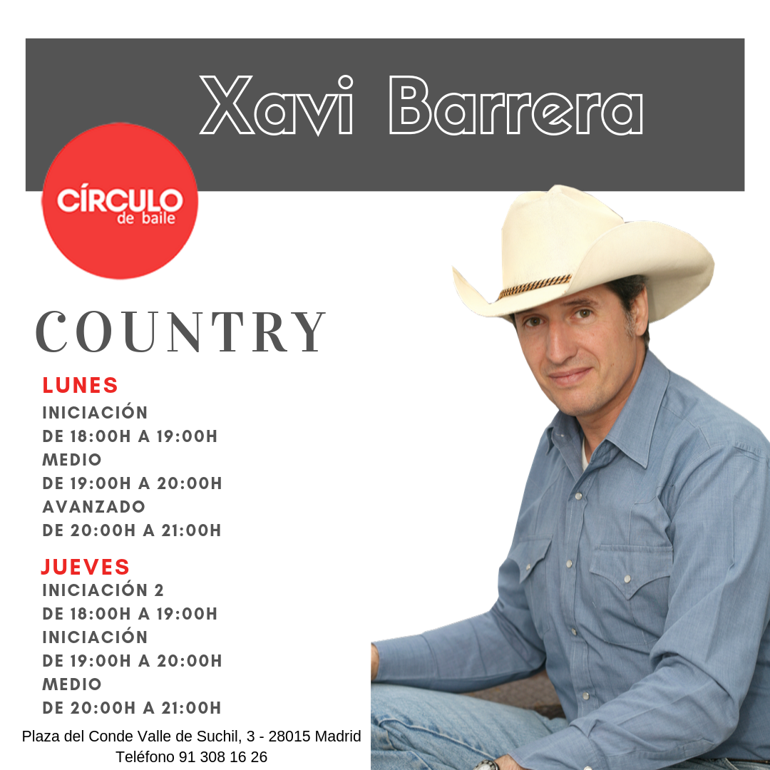 Clases de Xavi. 2019-20. Country