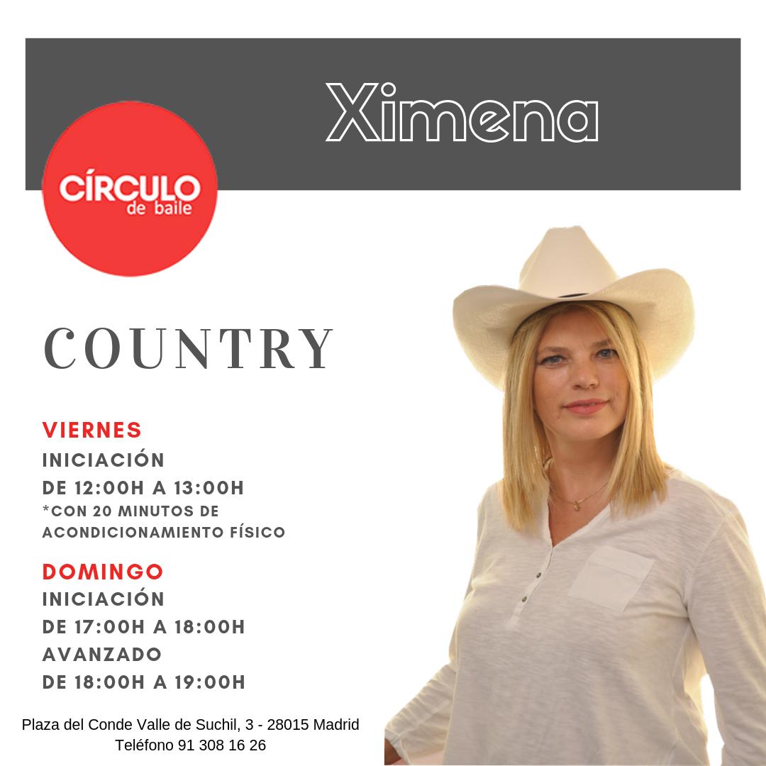Clases de Ximena. 2019-20. Country