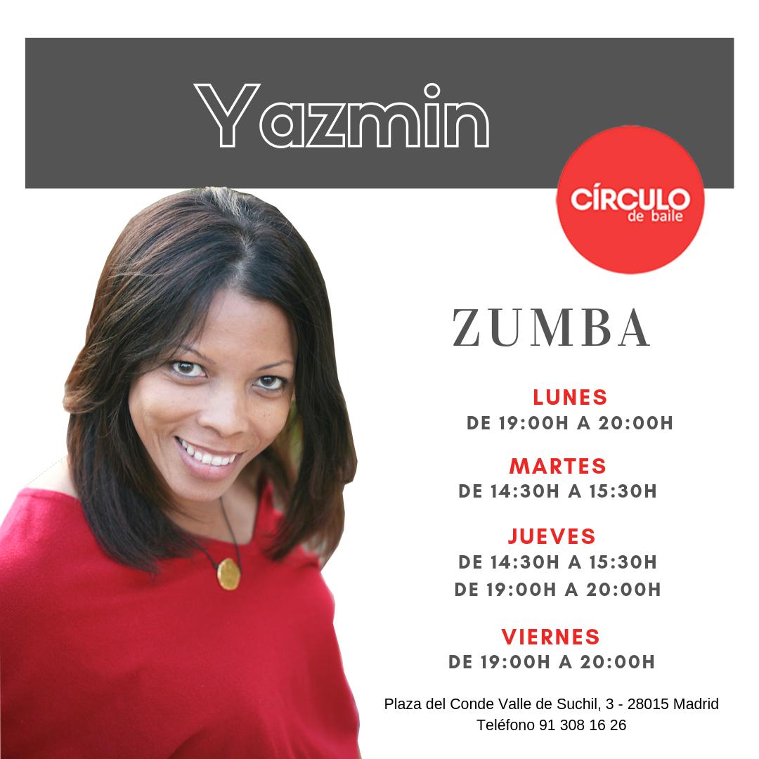 Clases de Yazmín. 2019-20. Zumba