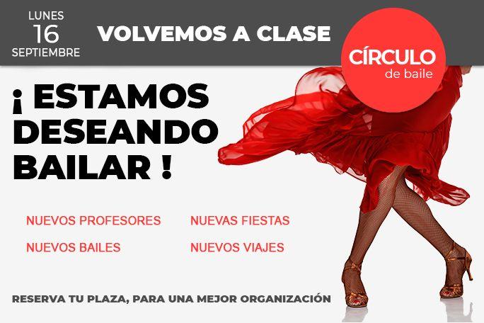 Comienzo del curso 2019-20 en Círculo de Baile