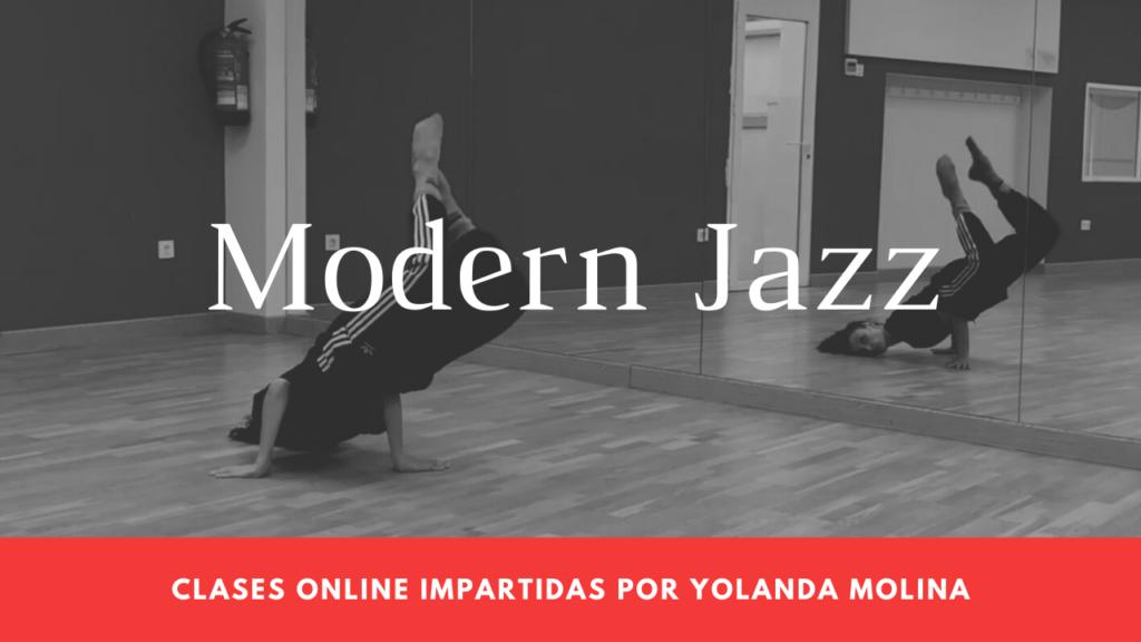 Clases de Modern Jazz de Yolanda online