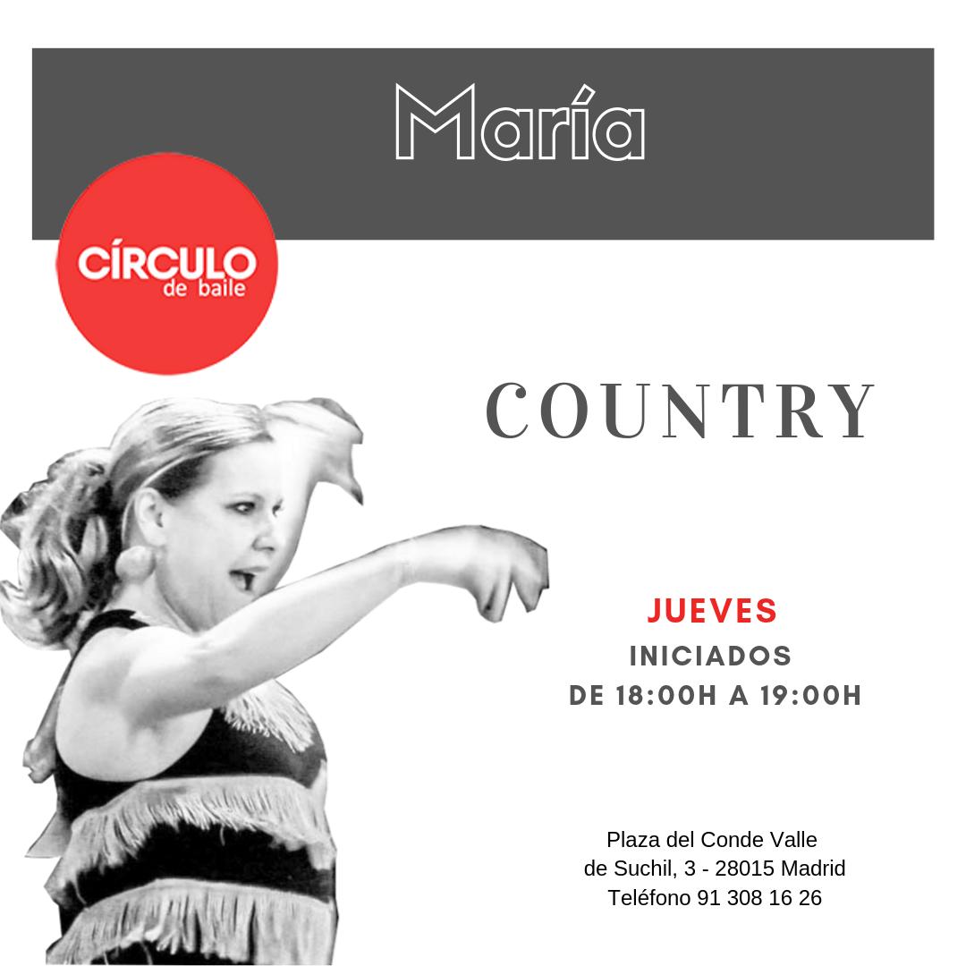 Clases de María. 2019-20. Country