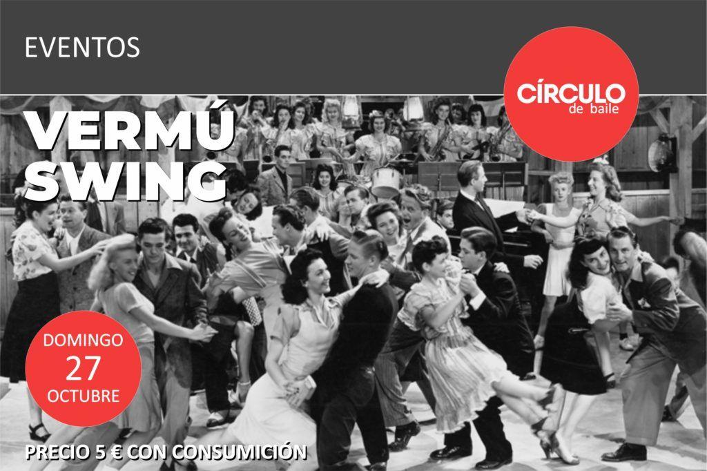 Vermú Swing en Círculo de Baile el domingo 27-10-19