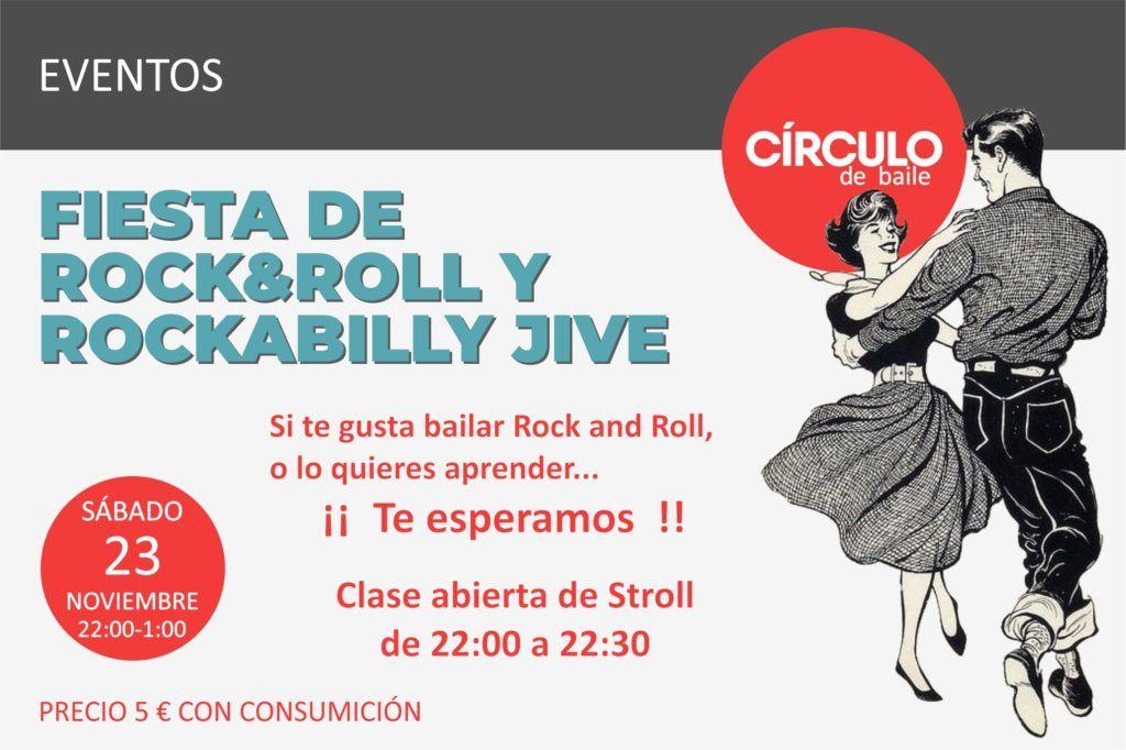 Fiesta de Rock&Roll y Rockabilly Jive. Círculo de Baile. 23-11-2019
