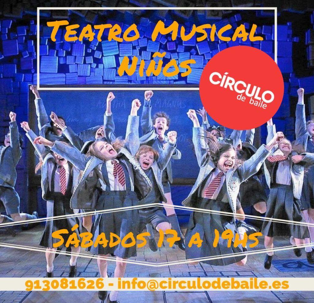 Teatro Musical para niños con Ariel Juin en Círculo de Baile