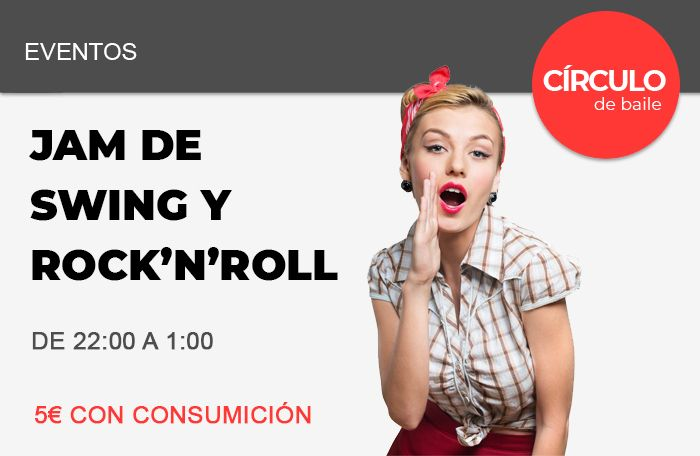 Jam de Swing y Rock and Roll en Círculo de Baile