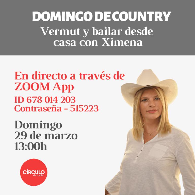 Vermut de Country con Ximena. 29-03-20