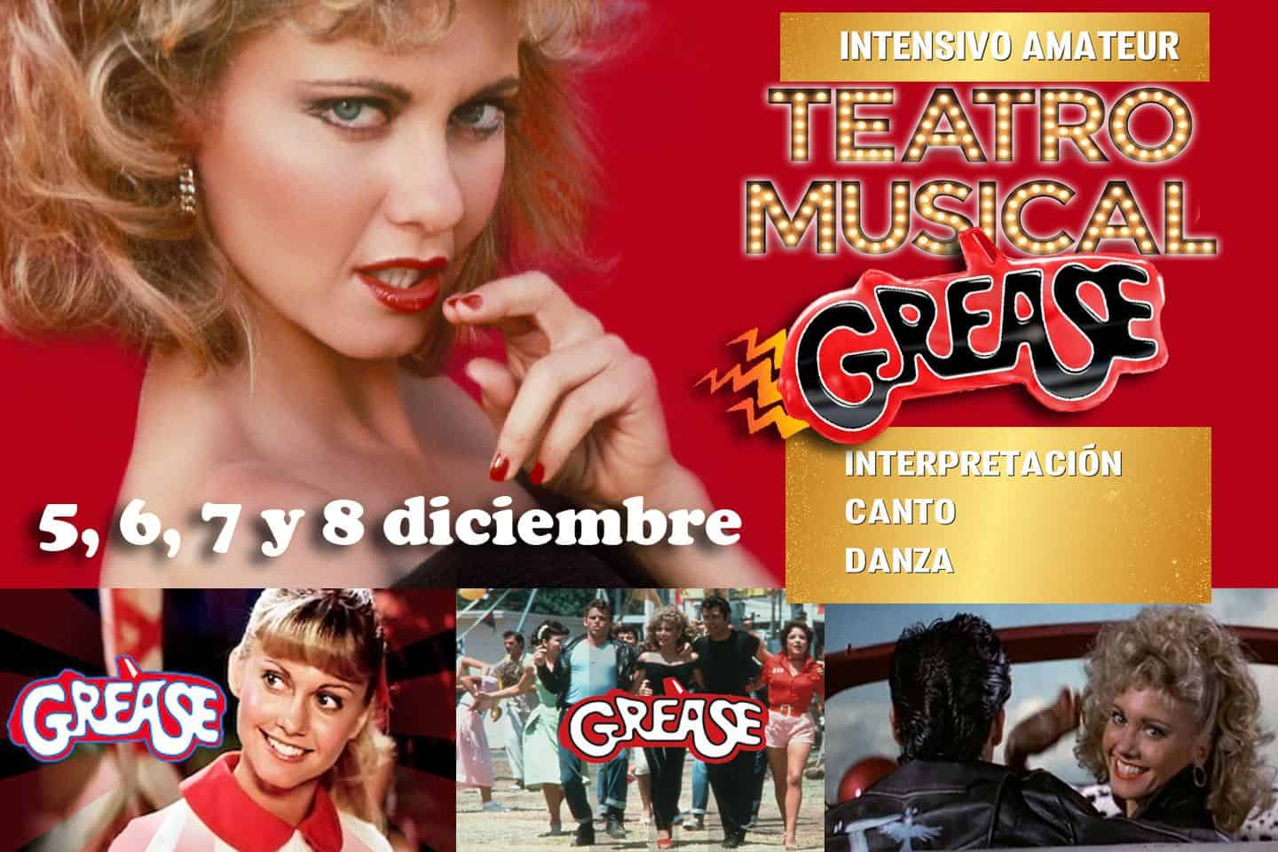 Grease. Intensivo Amateur de Teatro Musical. Diciembre 2020